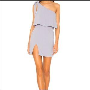 Superdown Jenna Tie Shoulder Dress